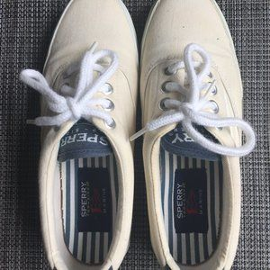 SPERRY Top Sider white sneaker shoes